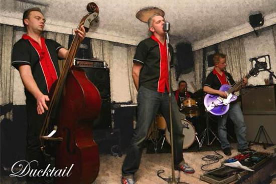 Ducktail: Rockabilly & Amusebilly