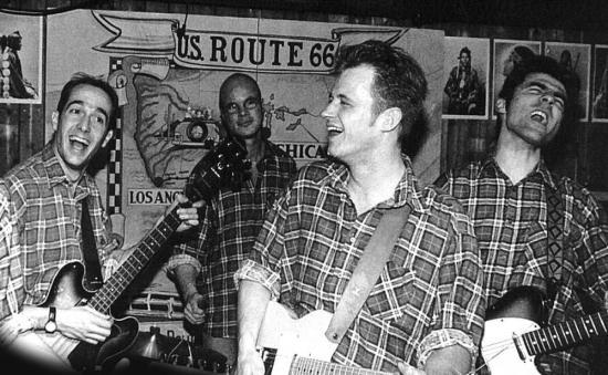 John-Boy & The Waltons 50s / 60s Rock'n'Roll & Country (foto Ton Schrederhof)